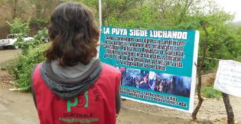 Guatemala : La Cour supérieure de justice ordonne l'arrêt définitif des travaux de la mine de La Puya