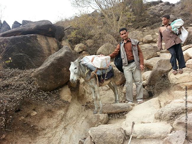 Yemen: « Les vaccins sont transportés à dos d'âne »