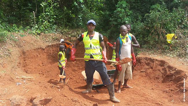 Travailler pour la communauté en République centrafricaine