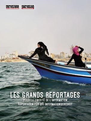 Album RSF «Les Grands Reportages 2016» sur wemakeit !
