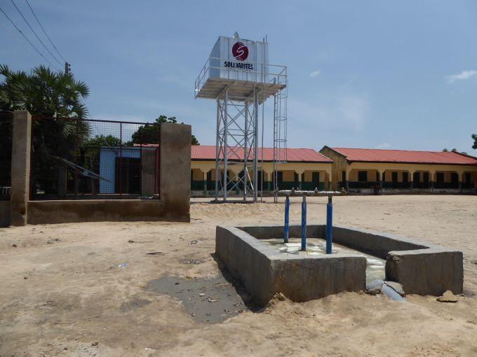 Nigéria : un premier réservoir d'eau potable opérationnel
