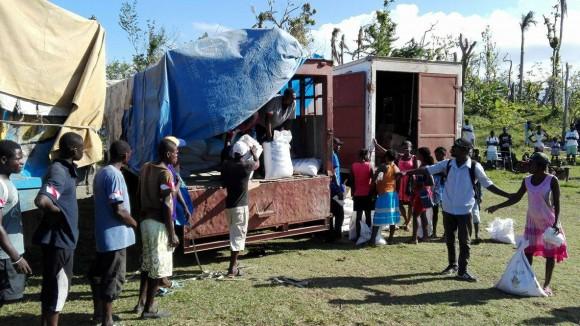 ACTED Haïti poursuit les distributions alimentaires en Grand'Anse
