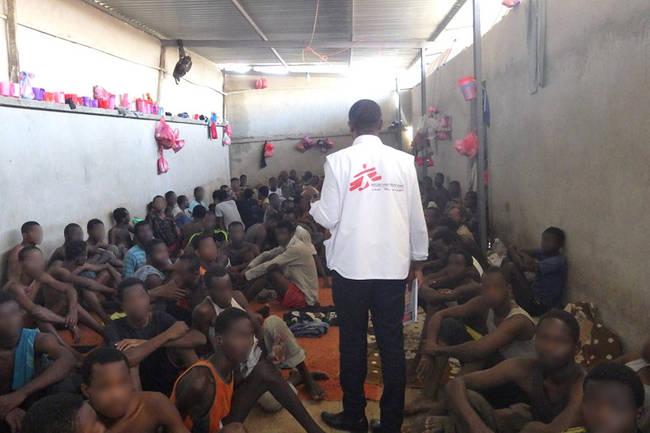 En Libye, les migrants sont détenus dans des conditions inhumaines