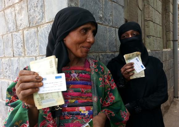 Les transferts d'argent ; vers une efficacité accrue de l'aide humanitaire