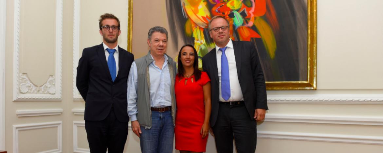 « La Colombie doit remonter au Classement de la liberté de la presse », affirme le président Santos