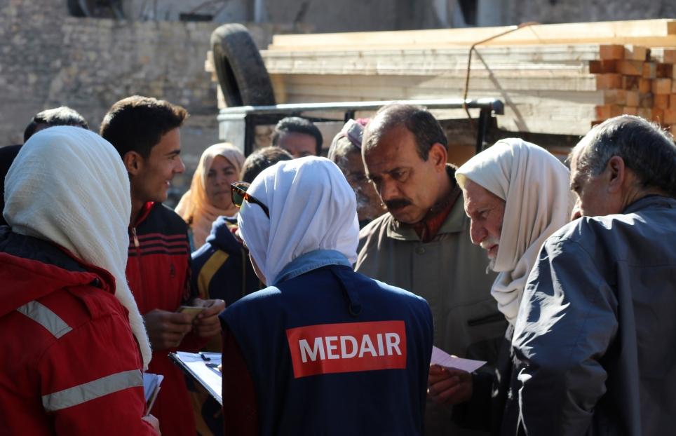 Medair vient en aide aux déplacés qui ont fui Afrine, en Syrie