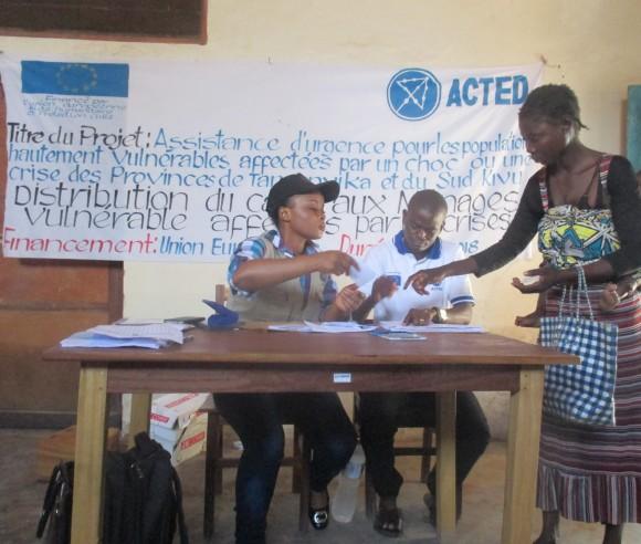 RD Congo: le transfert d'argent pour aider les populations déplacées de Nyunzu
