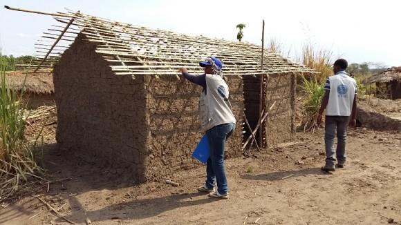 Congo: Des abris pour les familles affectées par la crise humanitaire à Pweto