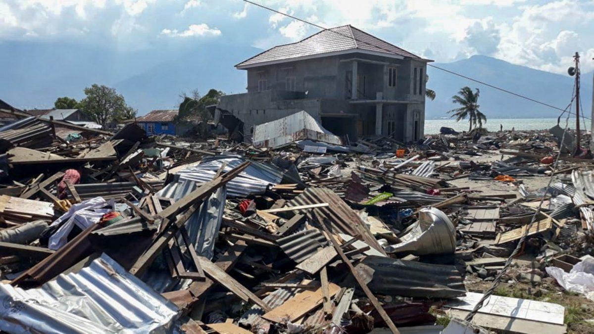MSF en alerte suite au tsunami en Sulawesi en Indonésie