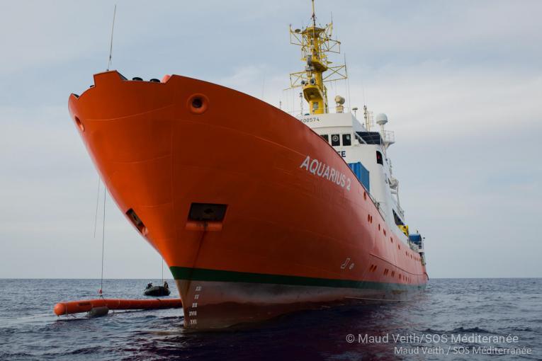 Une attaque grotesque des autorités italiennes contre l'Aquarius destinée à liquider les opérations vitales de sauvetage en mer Méditerranée