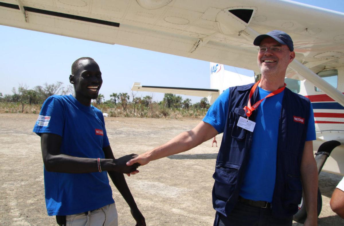 Soudan: «l'engagement face à la catastrophe»