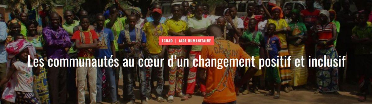 Tchad: les communautés au cœur d'un changement positif et inclusif