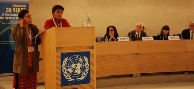 ONU: Les jeunes portent leurs revendications sur la scène internationale