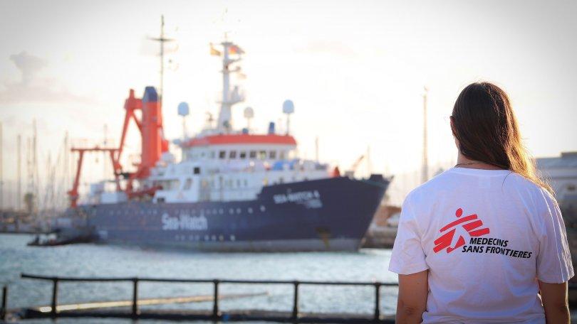Sea-Watch et MSF s'associent pour sauver des vies en Méditerranée centrale