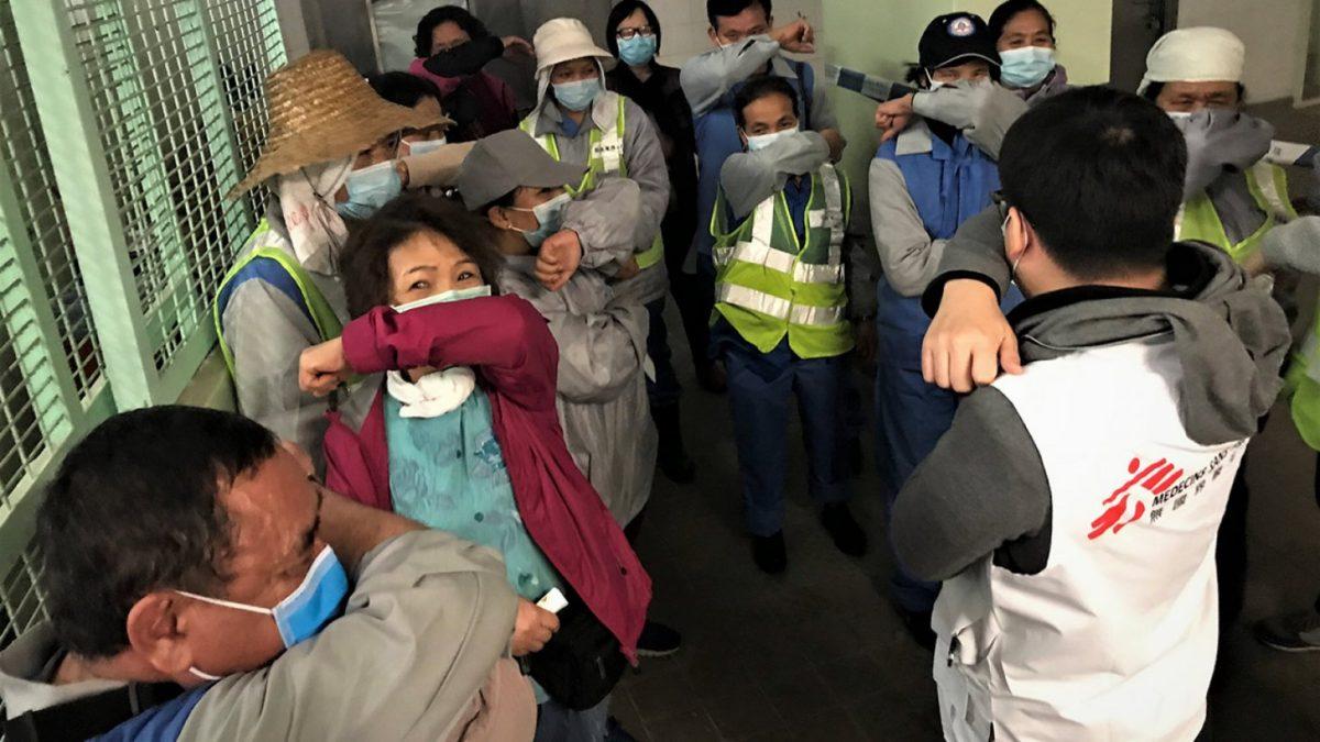 Médecins Sans Frontières répond à l'épidémie de coronavirus COVID-19
