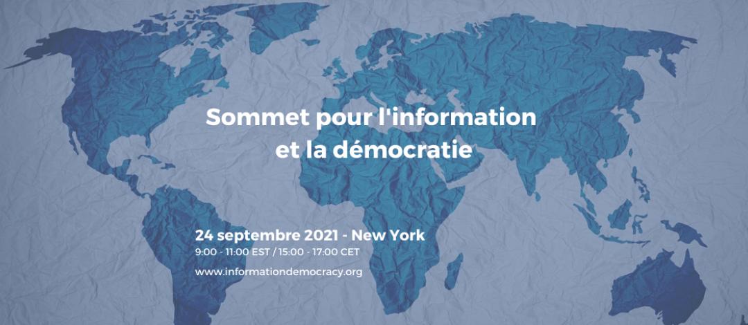Etablir des règles dans l'espace numérique: RSF attend des avancées lors du Sommet pour l'information et la démocratie